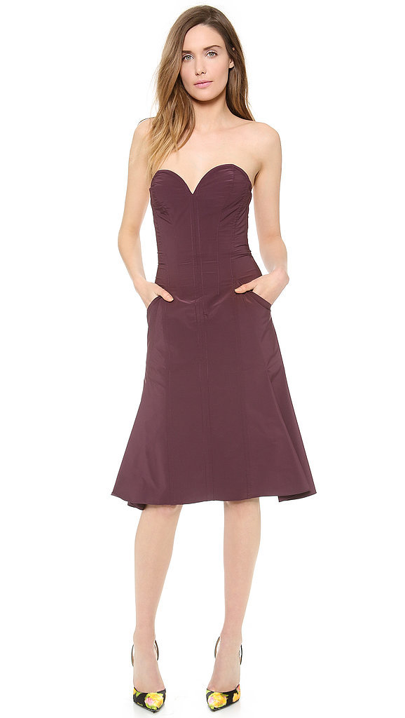 Nina Ricci strapless sweetheart-neckline dress ($2,390)