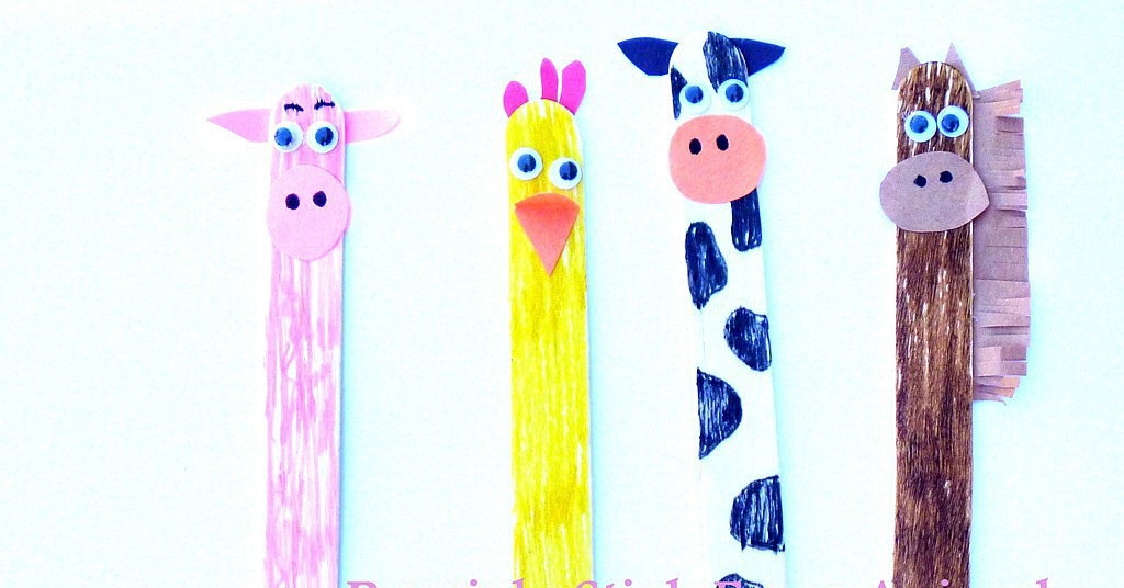 Pics Photos - Popsicle Stick Puppets For Story Retelling For Jump Frog ...