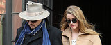 Johnny Depp and Amber Heard Put Their Rings on Display!