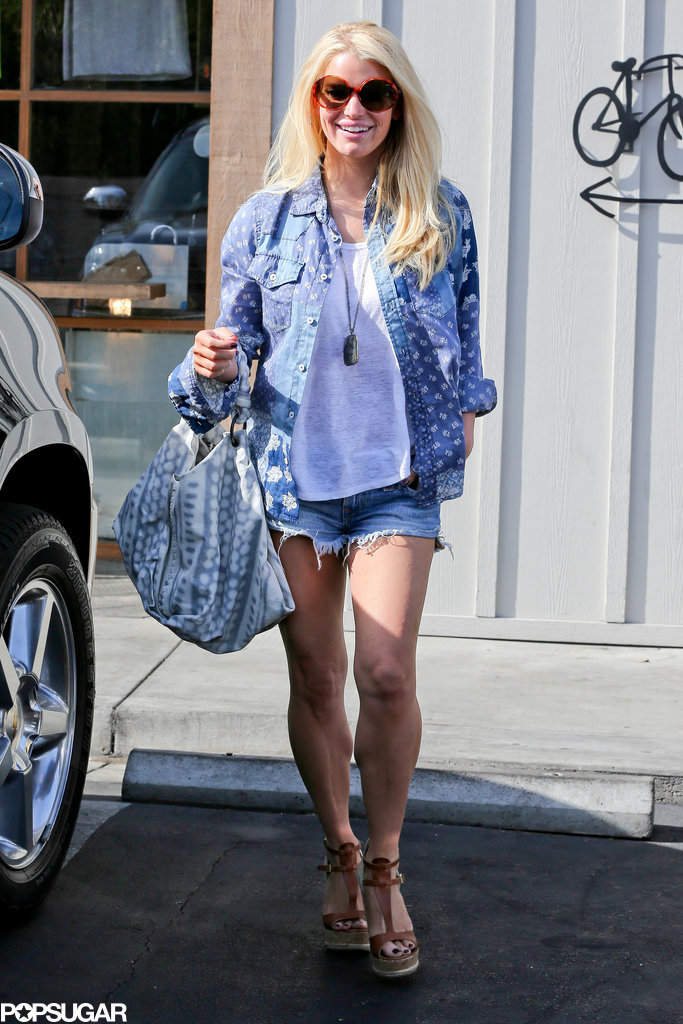 Jessica Simpson's Daisy Dukes Are Making a Comeback