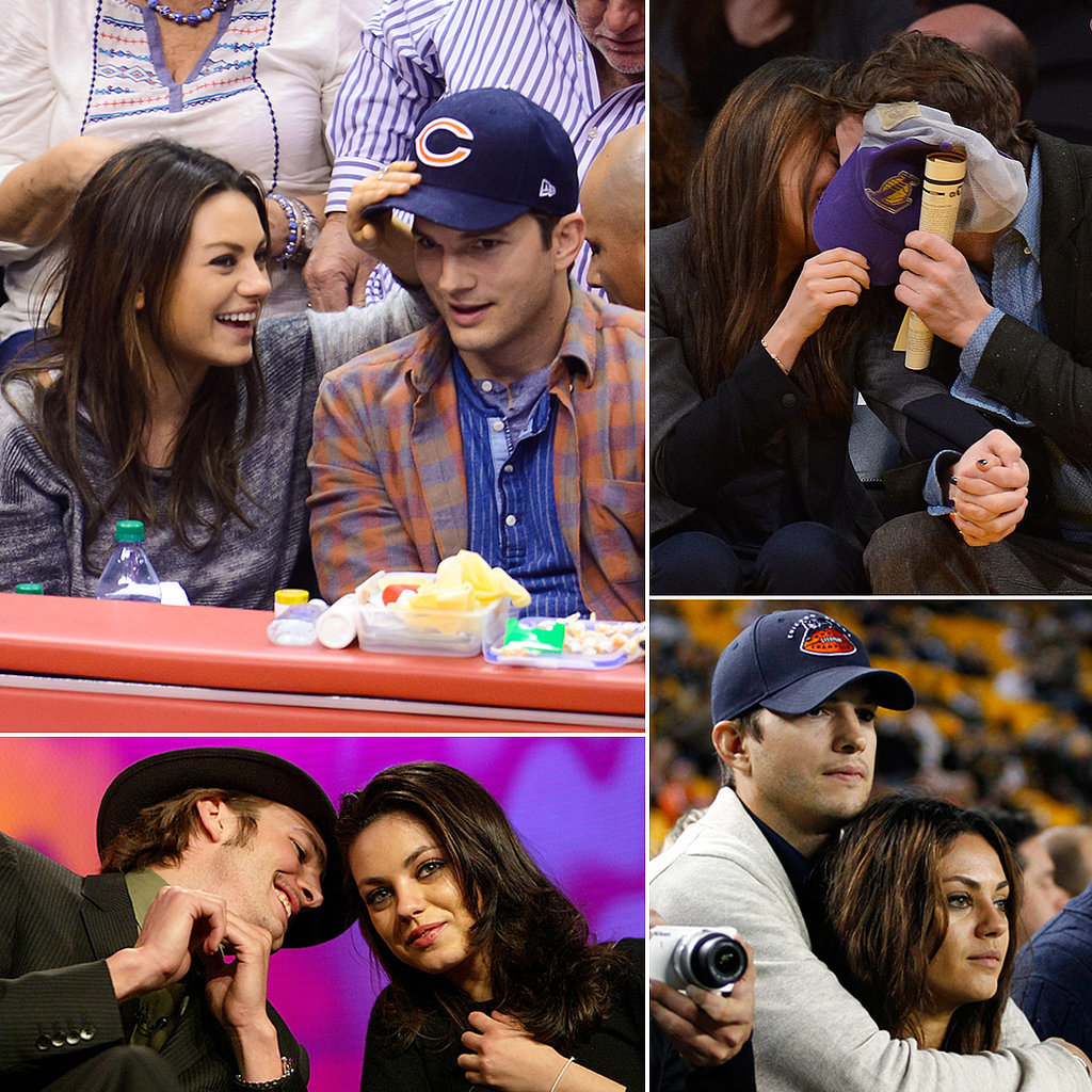 Mila and Ashton's Cutest PDA Pictures