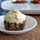 Meatloaf Muffins With Spinach and Pine Nuts