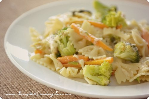 Lemon and Sage Veggie Pasta