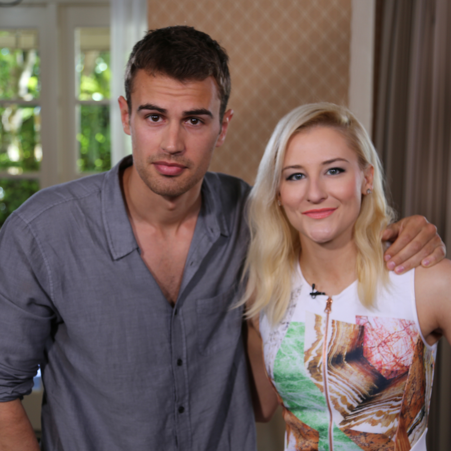 Theo James Girlfriend 2014 Share this link