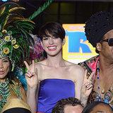 Anne Hathaway in Miami Rio 2 Premiere | Video