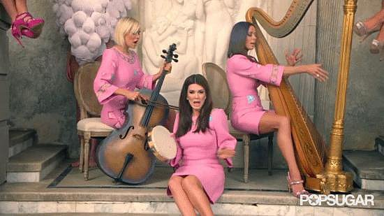 Weird: The Real Housewives of Beverly Hills Doing Backup Instrumentals