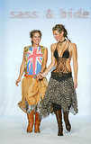 Sarah-Jane Clarke and Heidi Middleton at Fall 2014 New York Fashion Week