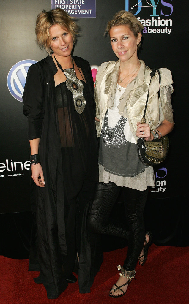 Sarah-Jane Clarke and Heidi Middleton at 30 Days of Fashion Launch