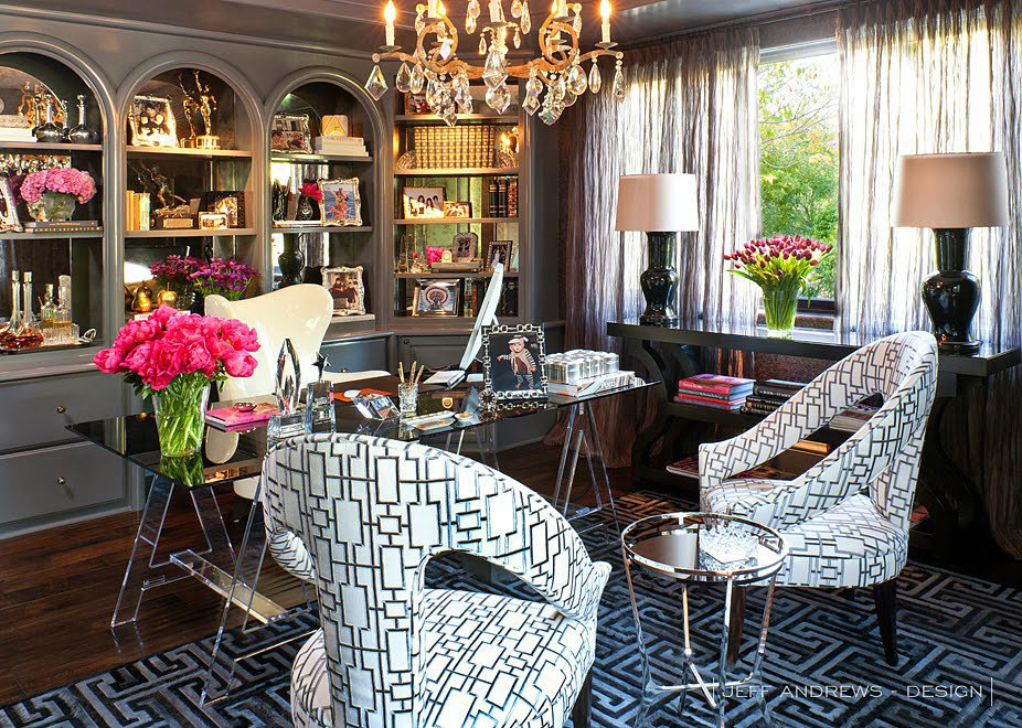 Kris Jenner's Glitzy Office