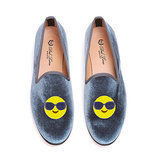 Del Toro For Moda Operandi Emoji Smoking Slippers