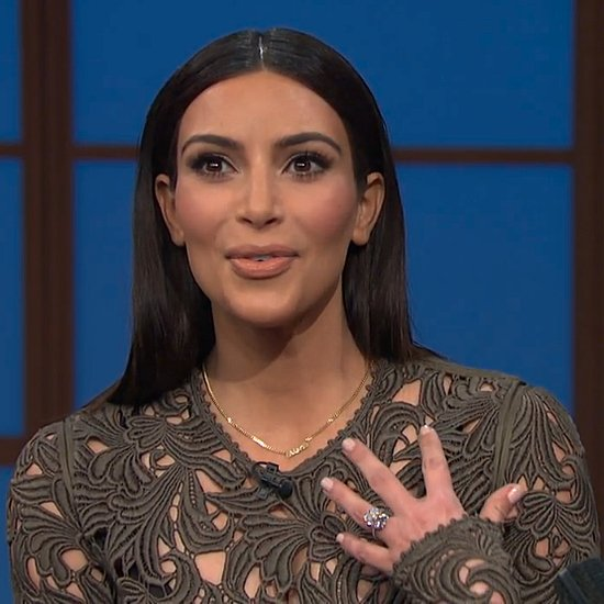 Kim Kardashian Interview on Late Night With Seth Meyers