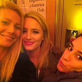 Gwyneth Paltrow, Dianna Agron, and Lea Michele on Glee