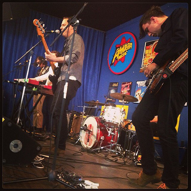 Attend a Free Concert at Amoeba Music
