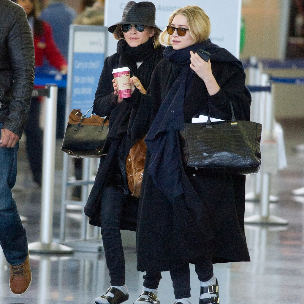 Mary-Kate and Ashley Olsen Wearing Birkenstocks