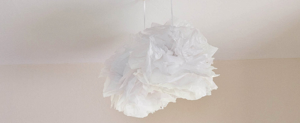 Transform Plastic Bags Into Party Pom-Pom Decorations