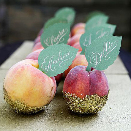 Peach Plate Topper | DIY