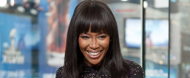 Naomi Campbell Literally LOLs About Kim and Kanye's Vogue Cover