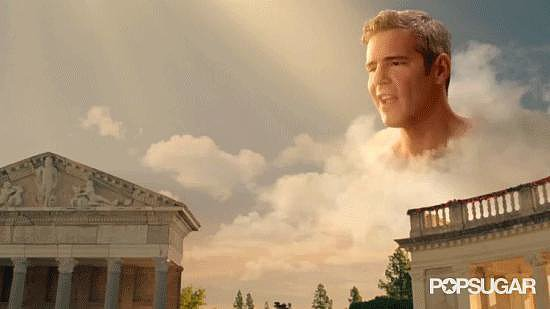 She Made Andy Cohen Into a God and Placed Him in the Clouds