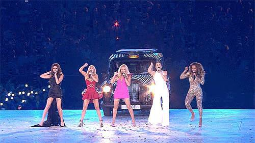 The Spice Girls reunion was your favorite part of the London 2012 Olympics.
