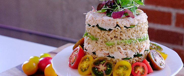 Create a Stunning California Roll Sushi Cake