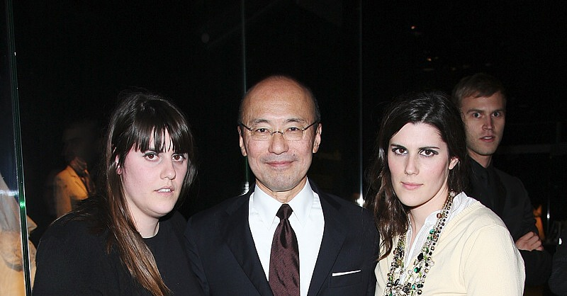 Dec 2007: with curator Harold Koda at The MET
