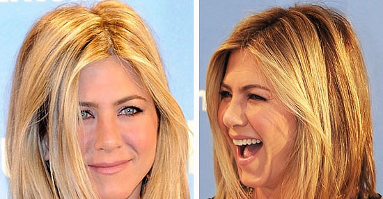 Jennifer Aniston Shows Off New Long Bob Hairstyle in Madrid ...