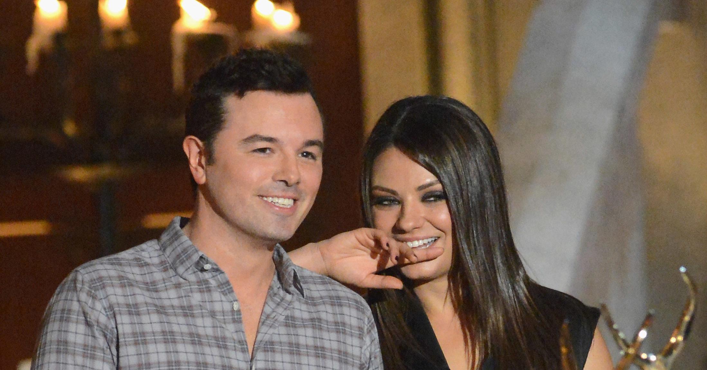 Mila Kunis cuddled up to Seth MacFarlane in 2012 at the ...