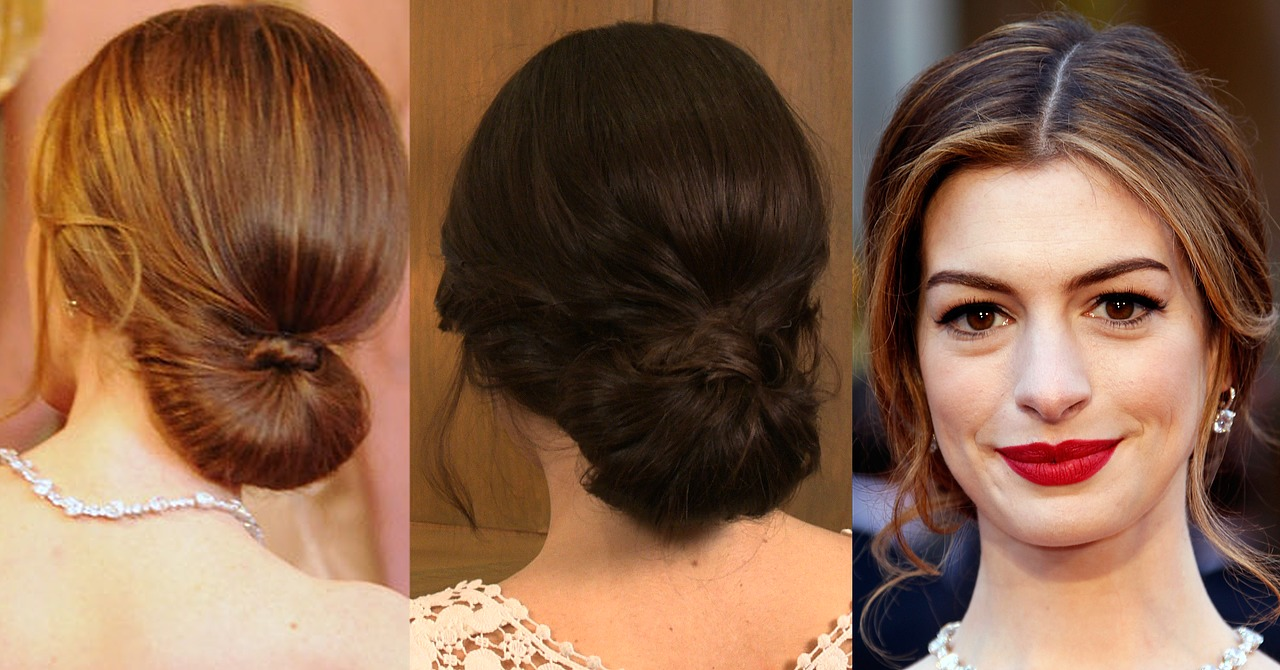 Anne hathaway oscars 2011 hair
