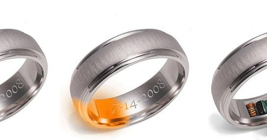 Voici la Remember Ring, bague qui chauffe jusqu'à 50°C pour vous rappeler votre date d'anniversaire de marriage