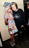 Harry also snapped pics with Lou Teasdale.