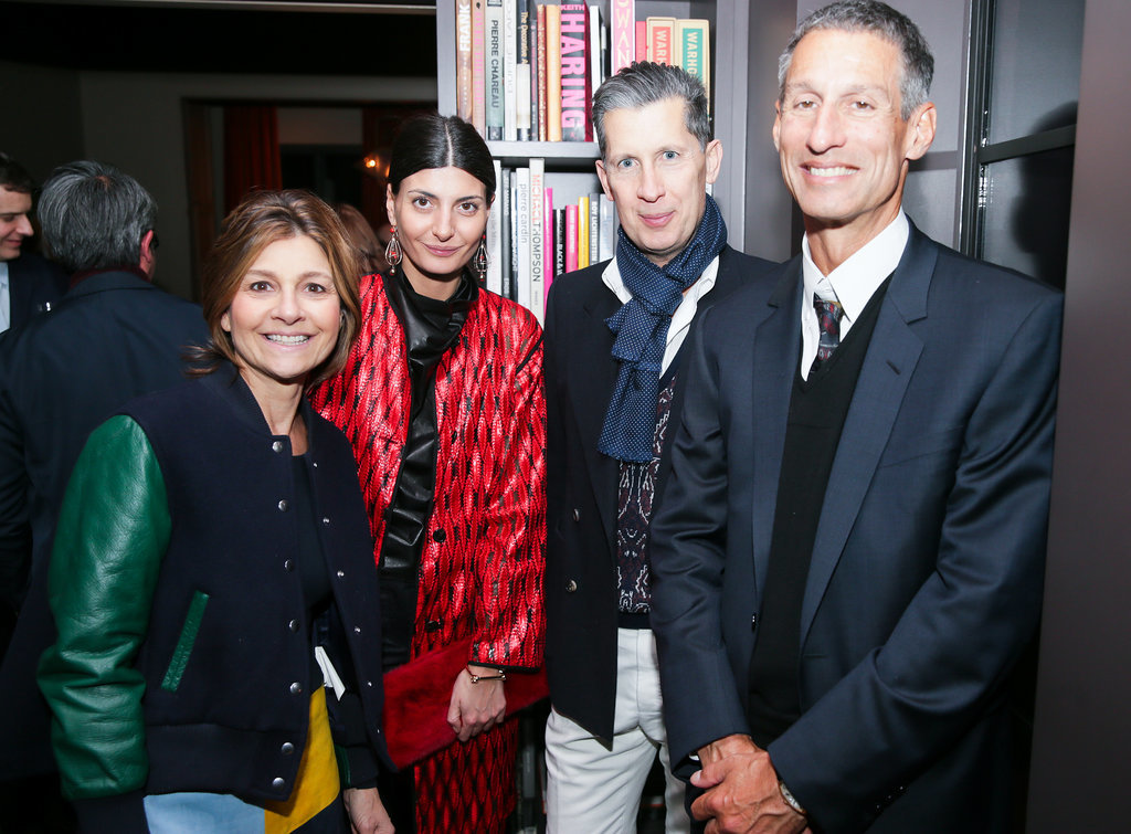 Lisa Perry, Giovanna Battaglia, Stefano Tonchi, and Richard Perry
