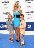 Britney Spears's kids are 7 and 8 years old.