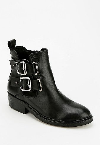 Urban Outfitters To Be Announced Fraud Double-Buckle Ankle Boot ($80, originally $205)