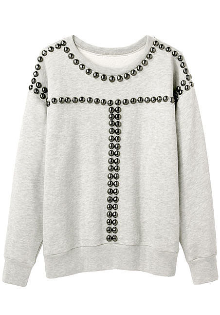 Isabel Marant Scotty Studded Sweatshirt ($343, originally $685)