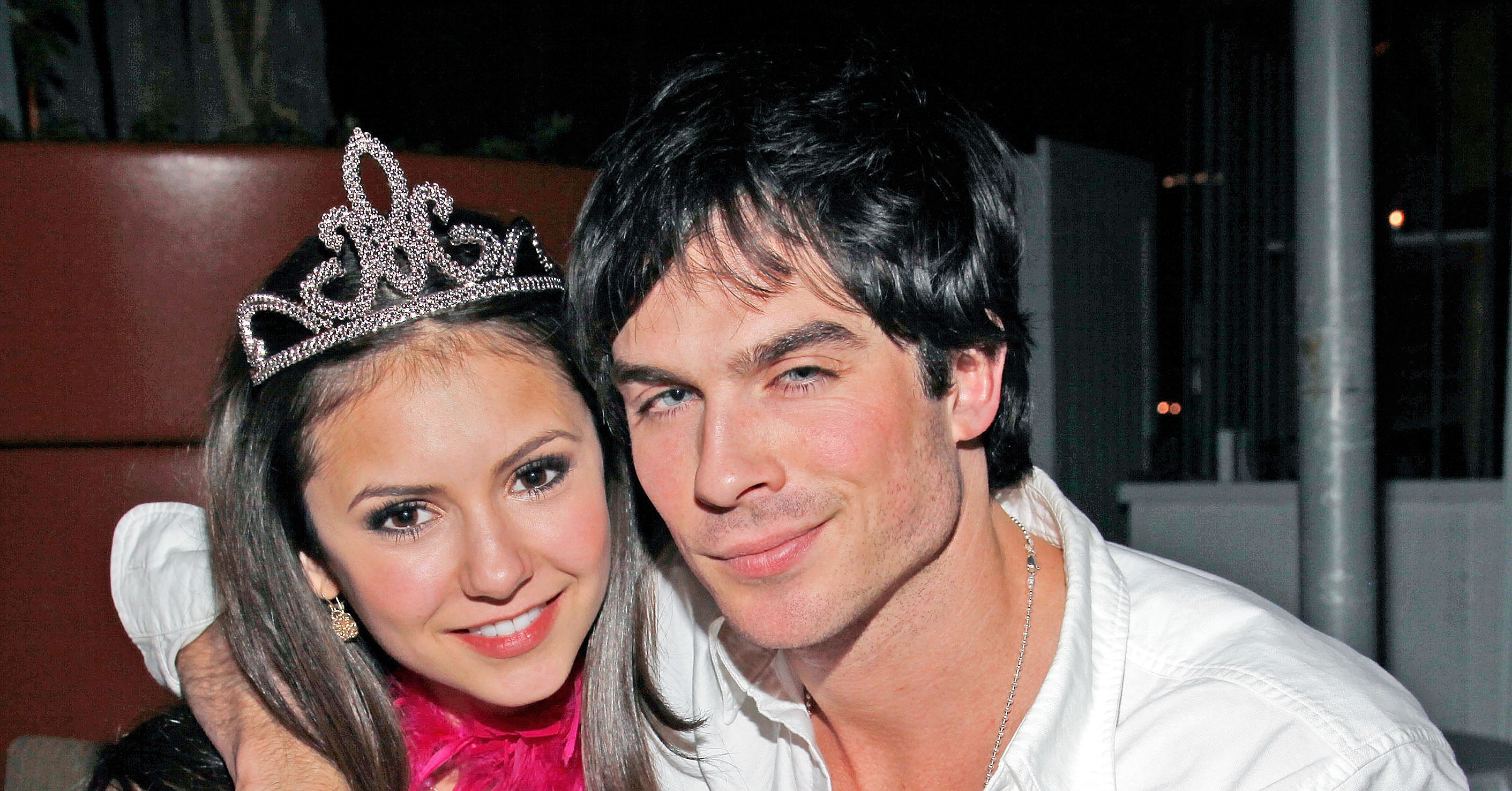 When did nina and ian start dating