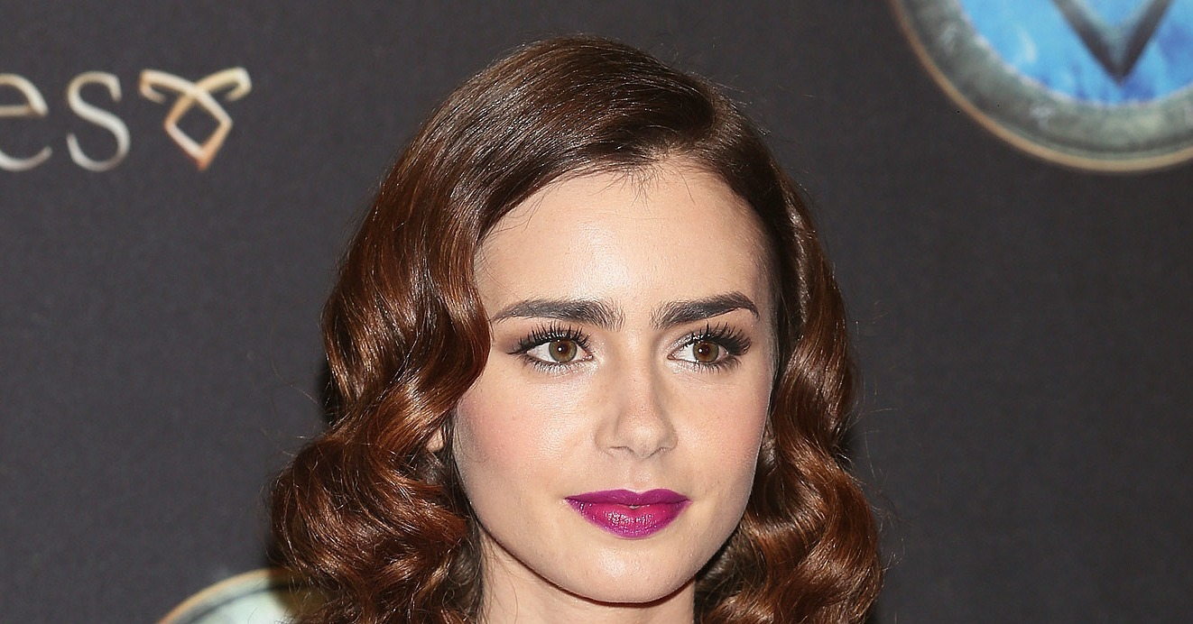 Lily Collins Hair Color In Mortal Instruments