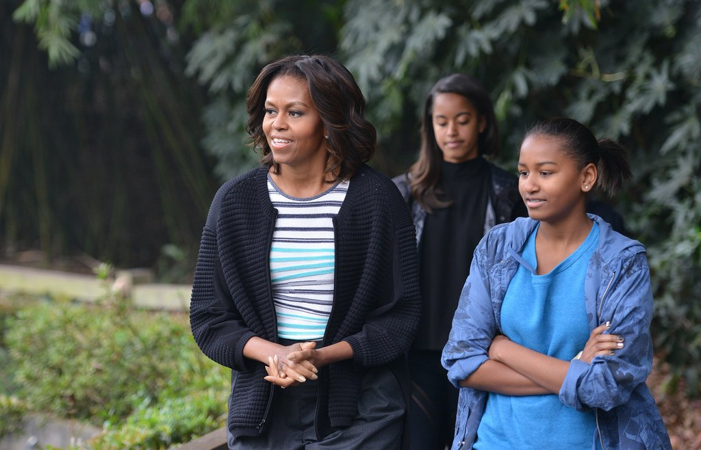 Go Inside the Obama Girls' Trip Overseas
