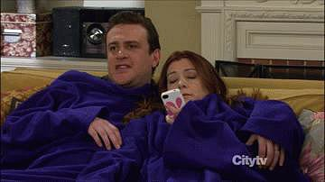 Though sometimes they prefer to snuggle in Snuggies.