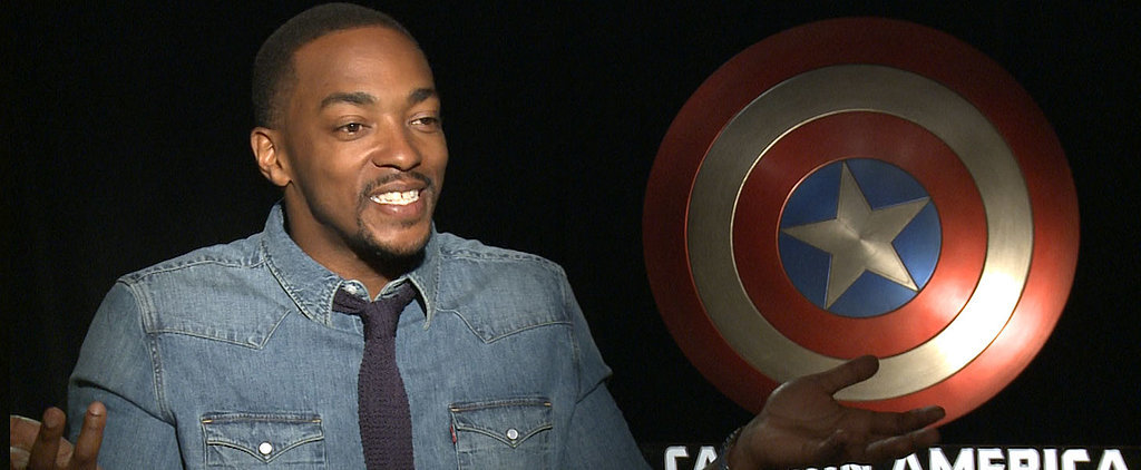 "Yes, Anthony Mackie Calls Chris Evans ""Captain Small Ass"""