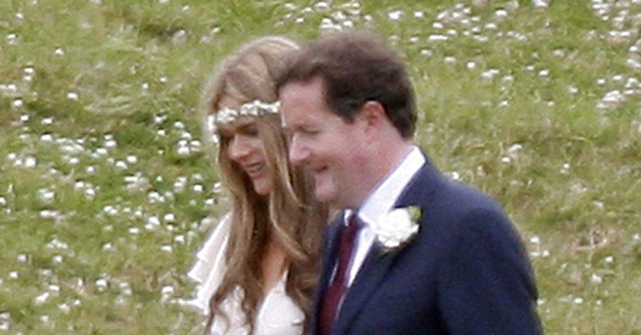 Piers Morgan Married Celia Walden In England In June 2010