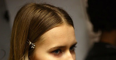 Backstage at Paris Fashion Week: Fatima Lopes