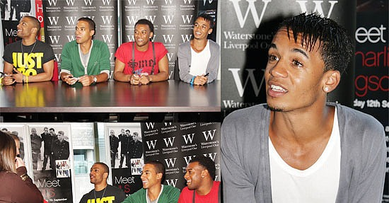 Photos of JLS aka Aston Merrygold, Marvin Humes, Oritse ...