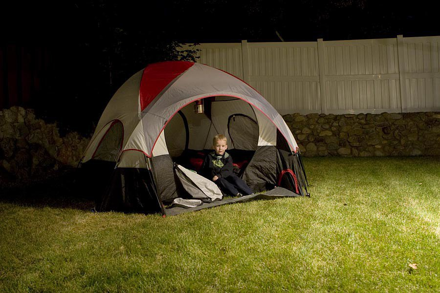 Pitch a Tent in the Backyard