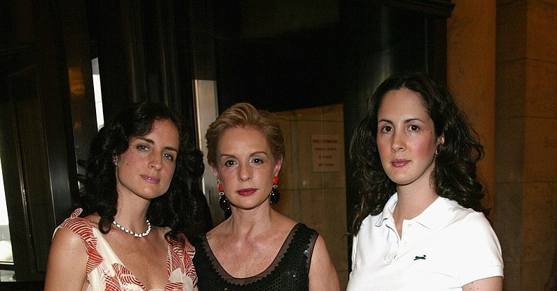 2004, with her daughters