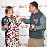 Drew Barrymore and Adam Sandler at CinemaCon 2014