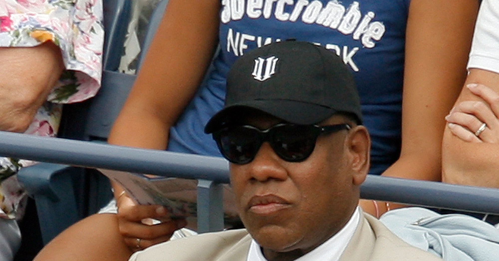 Anna Wintour, Andre Leon Talley Share a Little (Tennis) Love