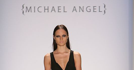 Michael Angel Spring 2009 Runway Show