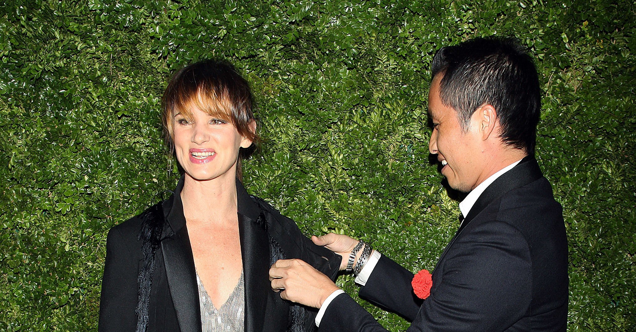 Juliette Lewis and Phillip Lim.
