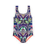 Bird Print One-Piece by Mara Hoffman