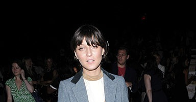 Front row at 3.1 Phillip Lim, Sept. 10.
